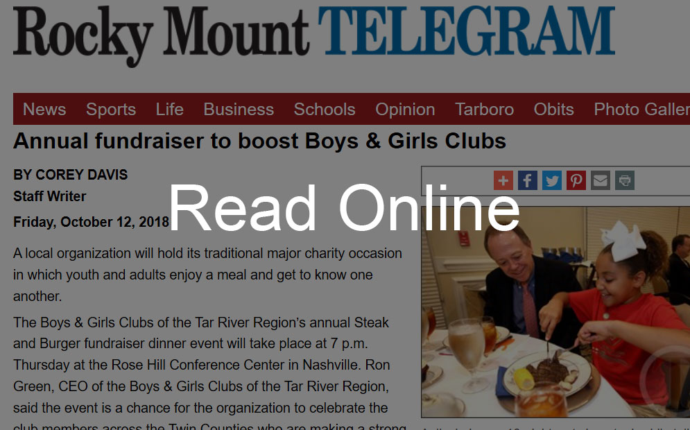 Annual Fundraiser to Boost Boys & Girls Clubs